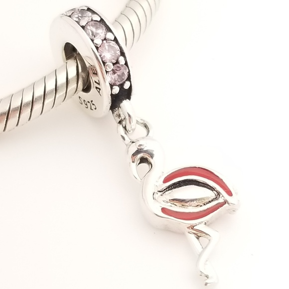 Pandora Jewelry - Pandora Flamingo Dangle Silver 791294CZS